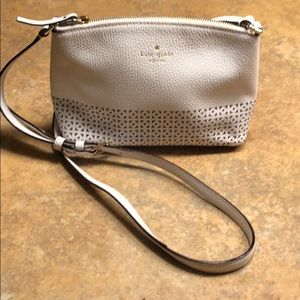 Kate Spade small crossbody, barely used, cream